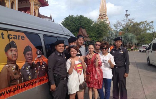 Police launch new Phuket tourist support project