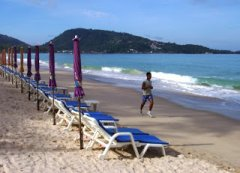 19th September 2006. Patong Beach. Very nice. Low season is great.