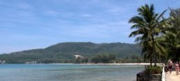 Kamala Beach on Phuket Island