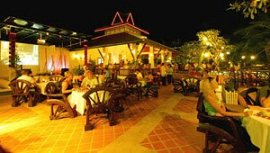 One of the restaurants at Kata Palm Resort
