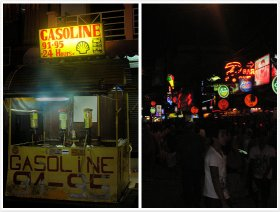 Phuket Thailand - Night in Patong