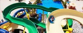 Splash Jungle Water Park slides Talang Thailand