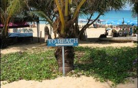 This way to the beach (at Karon Beach, Phuket)